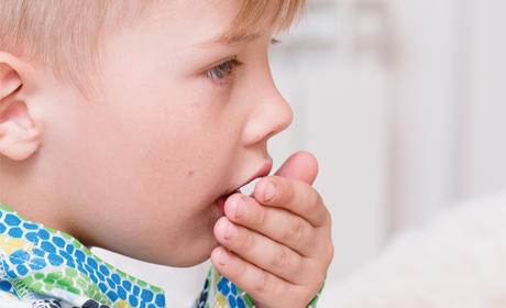 息子の咳にも神経質になってしまいます。